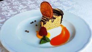 Dessert del Ristorante Villa Cariola