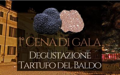 1° Cena di Gala Degustazione Tartufo del Baldo in Villa Cariola