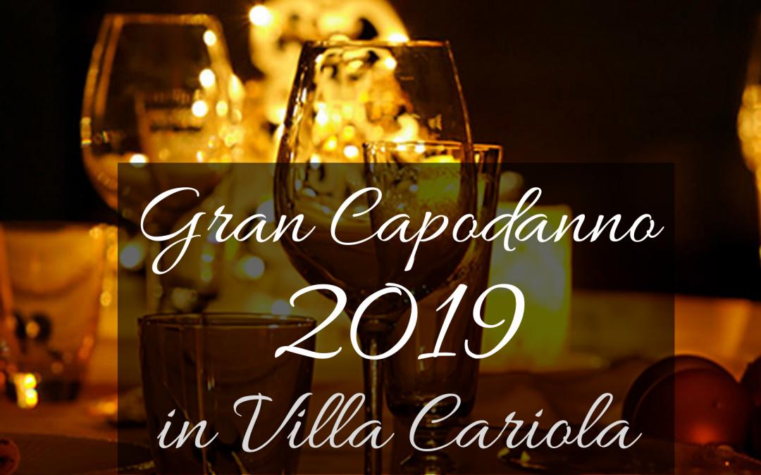 Gran Capodanno 2019 in Villa Cariola