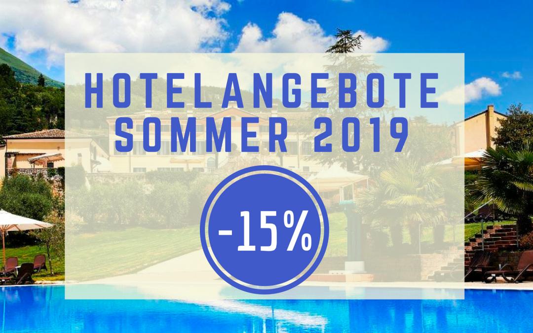 Sommer 2019 Hotelangebote