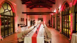 Cene di Gala in Villa Cariola
