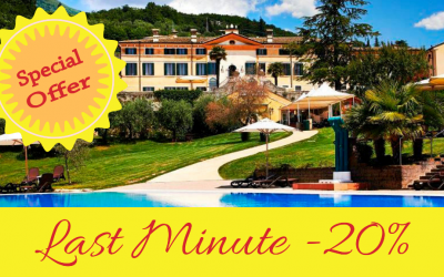 Last Minute -20% minimum 3 nights