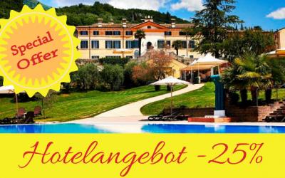 Sonderangebot Hotel – 25%